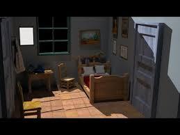 gogh chambre à arles la chambre à arles en 3d vincent gogh