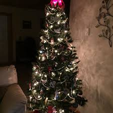how many lights for a 6 foot tree find more reduced convenient three piece 6 foot christmas tree