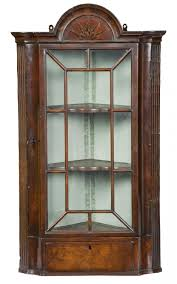mahogany corner bookcase pegs and u0027tails seventeenth and eighteenth century english and