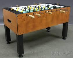 vintage foosball table for sale tornado hurricane foosball table sale number 2576m lot number 730