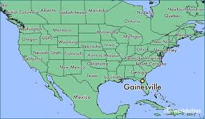 gainesville map where is gainesville fl where is gainesville fl located in