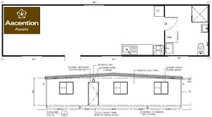 Floor Plan Granny Flat Granny Flat 12 0m X 3 0m Linear Modular Design