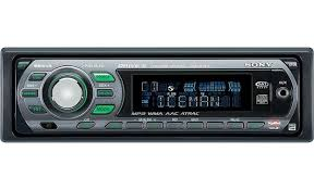 sony cdx gt510 cd receiver plays mp3 wma and aac files at