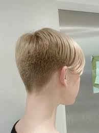 hairstyles for over 70 with cowlick at nape image result for pixie haircut shaved nape and sides bald cool