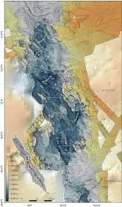 Elac Map Geomorphology Of The Central Red Sea Rift Determining Spreading