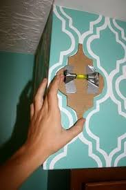 painted wallpaper a tutorial painted wallpaper stencils and