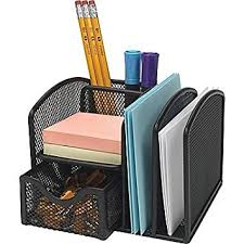 Staples Desk Organizers Staples Black Wire Mesh Office Manager Supply Caddy