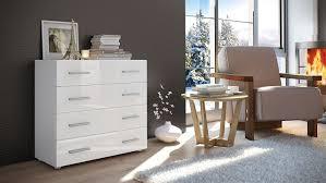 Schlafzimmer Kommode Amazon Kommode Sideboard Pavos Korpus In Weiß Matt Front In Weiß