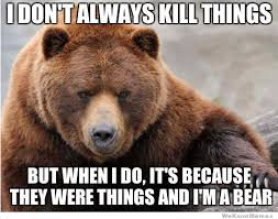 Patient Bear Meme - the most interesting bear in the world meme silly stuff