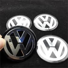 volkswagen wolfsburg emblem 2015 4pcs car vw stickers wheel center fits hub cap stickers 60mm