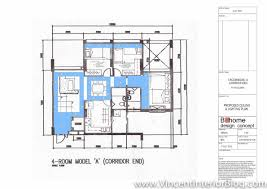 Hdb Flat Floor Plan by Woodland 4 Room Hdb Renovation By Behome Design Concept