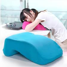 slow rebound nap pillow for office lunch break pillow student nap pillow for desk sleep home textile popular 9colors 30x24x10cm in pillows from home