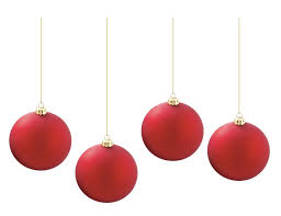hanging ornaments happy holidays