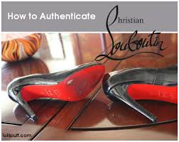 a basic christian louboutin authentication guide lollipuff