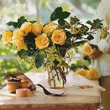 Arranging Roses In Vase 16 Rose Arrangements Easy Flower Arrangements From Bhg Com