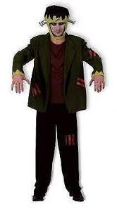 Eddie Munster Halloween Costume Mens Frankenstein Costume Ebay