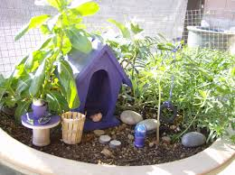 how to make a fairy garden in a flower pot fairy and fern