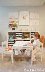 playroom table with storage basement reno quinn s playroom basement idea pinterest