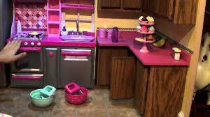 18 inch doll kitchen furniture astonishing lindsay nagy house tour part my kitchen