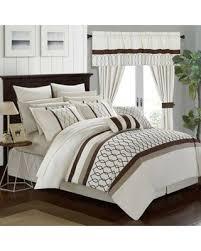 24 Piece Comforter Set Queen Slash Prices On Chic Home Molly 24 Piece Queen Comforter Set In Beige