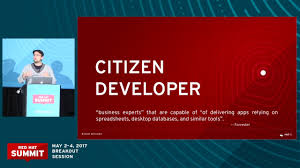 Applications Of Spreadsheets Dawn Of The Citizen Developer Low Code Application Development