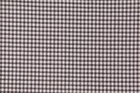 Black Drapery Fabric Small Check Printed Cotton Drapery Fabric In Black Ivory