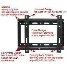 heavy duty speaker wall mounts aliexpress com buy 2pcs universal tv wall mount bracket for most