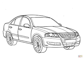 nissan skyline drawing outline nissan almera coloring page free printable coloring pages