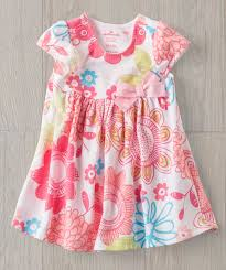 baby pink summer play dress floral hallmark baby