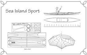 Wooden Boat Building Plans For Free by Sea Island Sport Sit On Top Kayak Plans Guillemot Kayaks Small