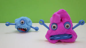Scary Monsters For Halloween Diy Scary Monsters For Halloween With Bouncing Putty Video Play