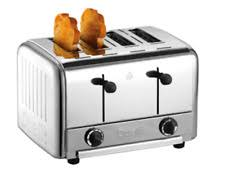 Dualit Sandwich Toaster Dualit Wide Slot Bagel Toasters Ebay
