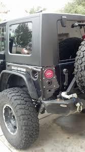 jeep wrangler backup lights flush mounted rear brake lights page 2 jk forum com the top