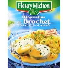 plat cuisiné fleury michon plat cuisiné fleury michon mousseline de brochet sauce écrevisse et