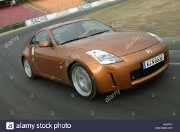 nissan roadster car nissan 350 z roadster model year 2003 coupe stock photo