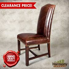 Leather Dining Room Chairs With Arms Leather And Wood Dining Chairs Home Design