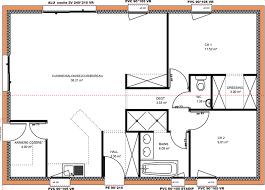 plan maison 2 chambres plain pied maison plain pied 2 chambres immobilier pour tous immobilier