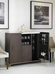 Oak Bar Cabinet 193005 Objets Bar Cabinet Rift Cut Oak With Marble Top And
