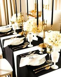 black and gold decorations ideas black and gold christmas