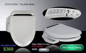 Toilet With Bidet And Heated Seat Bidet Toilet Seat Coco Bidet