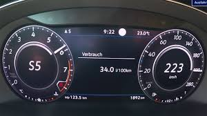 vw arteon 2 0 tsi 280 hp sounds dull in 0 100 km h sprint video