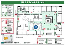 fire evacuation floor plan fire escape plans acca engineering consultants