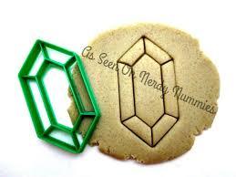 rupee gemstone cookie cutter dishwasher safe