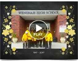 wenonah high school yearbook wenonah high school grand alumni association