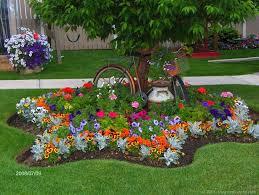 pretty flower garden ideas
