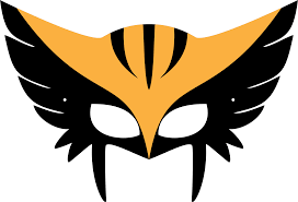 foam mask templates hawkgirl png