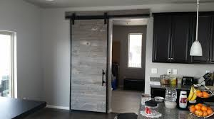 How To Build A Barn Door Frame Building A Barn Door Using Reclaimed Barn Wood In A Steel Frame