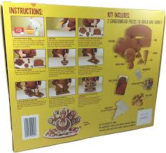 edible thanksgiving decorations amazon com trader joe u0027s gingerbread turkey kit grocery