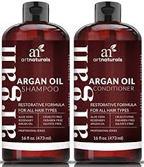 volumizing shoo for color treated hair amazon com art naturals organic moroccan argan oil shoo and