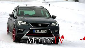 test drive 2017 seat ateca l snow u0026 ice xperience ger youtube